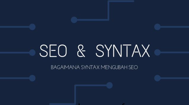 Pengertian SYNTAX & Perannya di DalamSEO