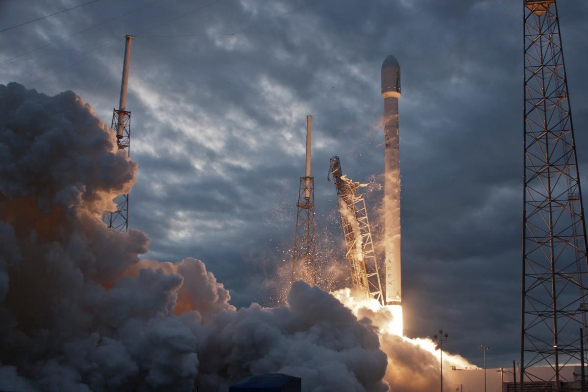 Rocket Take-off. Photo by SpaceX on Unsplashake.